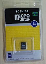 microSD 1GB